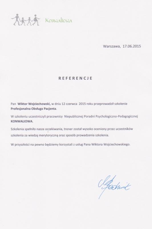 referencje konwaliowa - Konwaliowa