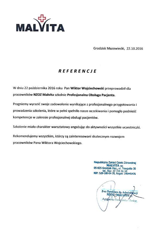 referencje malvita - Malvita