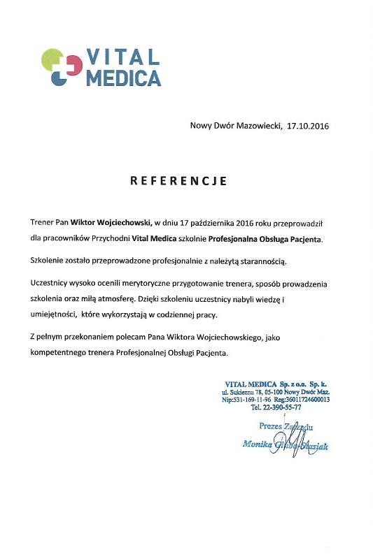 referencje vital - Vital Medica