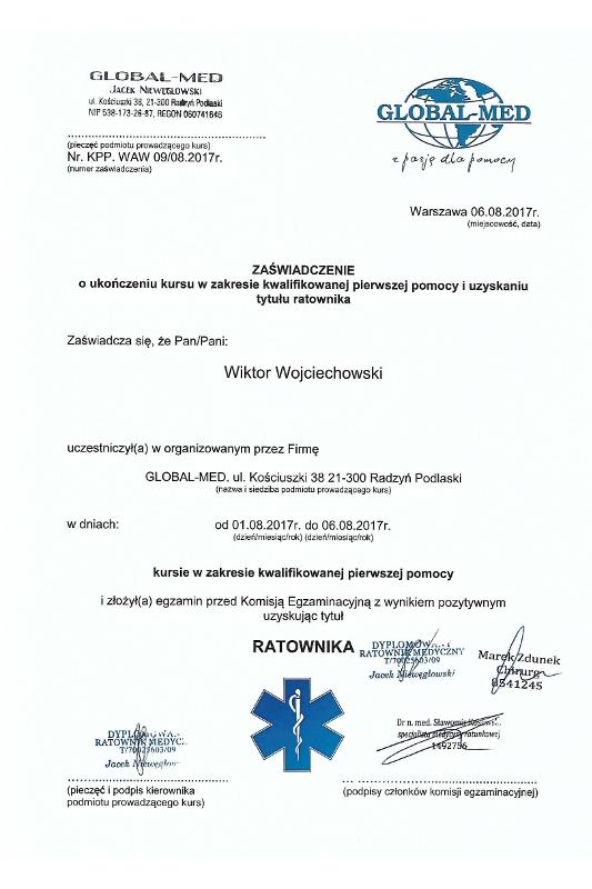 obslugapacjenta pl ratownik - Pierwsza pomoc