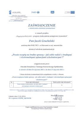 obslugapacjenta pl  trudne sytuacje 267x400 - Jacek Gruchelski
