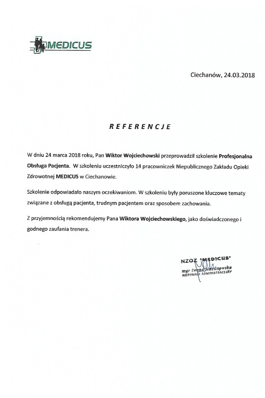 referencje medicus - Medicus