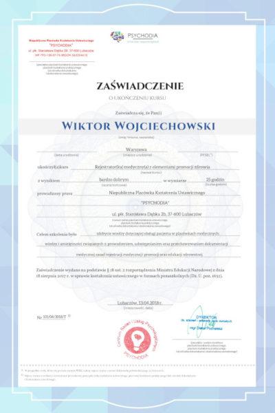 obslugapacjenta pl  szkolenie obsługa pacjenta 1 400x600 - Wiktor Wojciechowski