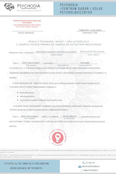 obslugapacjenta pl  szkolenie obsługa pacjenta 2 400x600 - Wiktor Wojciechowski