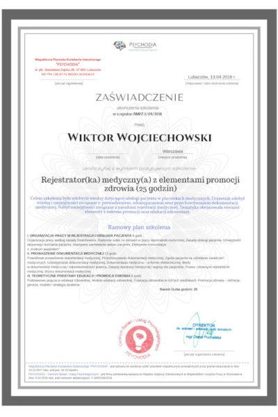 obslugapacjenta pl  szkolenie obsługa pacjenta 3 400x600 - Wiktor Wojciechowski